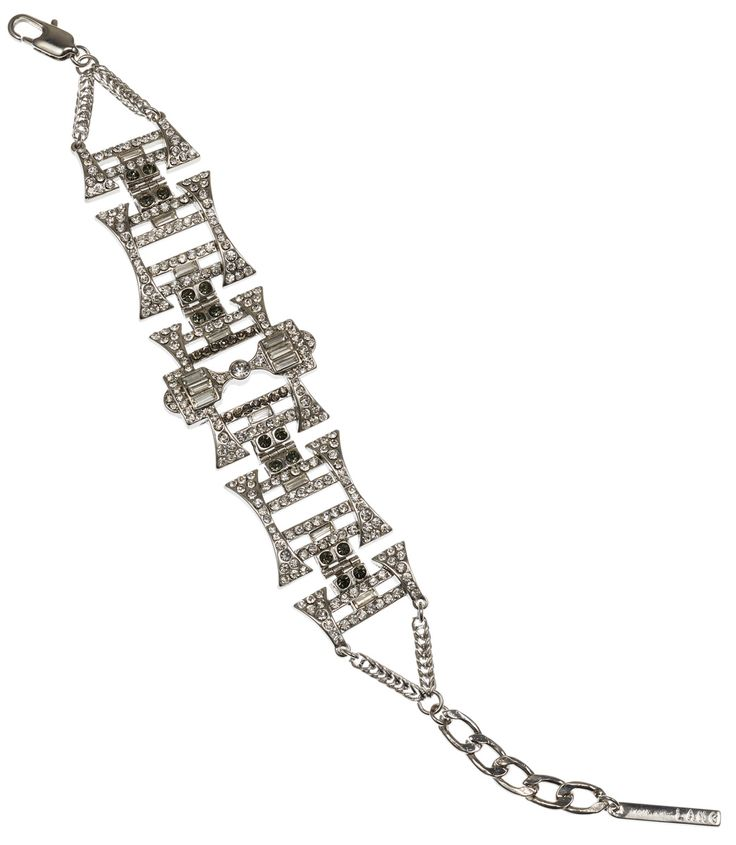 GOTHIC CRYSTAL CLUSTER BRACELET SILVER - PETER LANG http://www.thedarkhorse.com.au/shopping/BRACELETS/GOTHIC-CRYSTAL-CLUSTER-BRACELET-SILVER---PETER-LANG