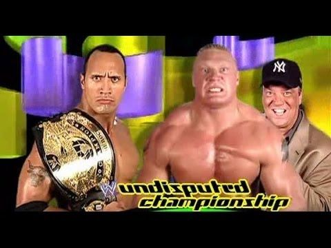 "The rock vs brock lesnar : WWE Summerslam 2002 {Old IS Gold} watch more: https://youtu.be/IpG0WPG7d7M More ACTION on WWE NETWORK : http://wwenetwork.com   SummerSlam: SummerSlam is a professional wrestling pay-per-view (PPV) event produced annually in August by professional wrestling promotion WWE. Dubbed as ""The Biggest Party of the Summer""[1] it is one of the original ""Big Four"" pay-per-view events of WWE (along with WrestleMania Royal Rumble and Survivor Series).[2] The inaugural…"