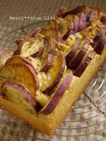 さつまいも第三弾は 簡単!パウンドケーキのレシピです♪ by mesonさん ...