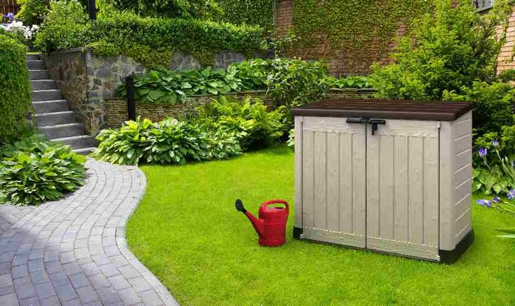 storage box voor in de tuin
