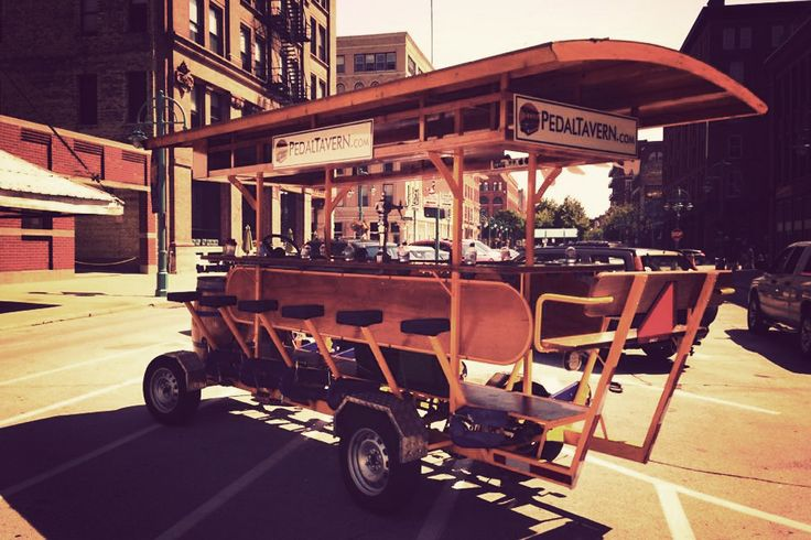 Pedal Tavern - a different kind of bar hopping in #Milwaukee Wisconsin