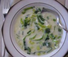 Rezept Lauchcremesuppe (Rezept des Tages 16.09.2013) von Tina 1964 - Rezept der Kategorie Suppen