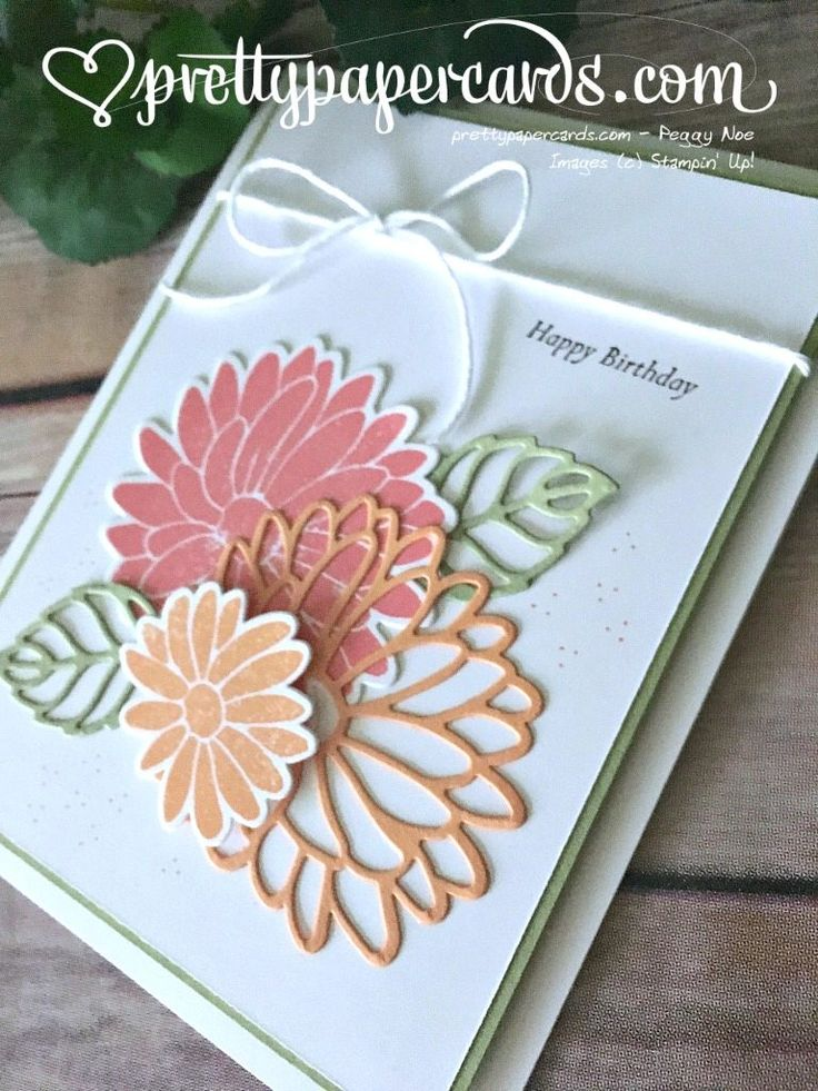Stylish Stems for a Special Reason! - Pretty Paper Cards