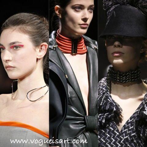 Tasma Kolye,Chokers,2014-2015 F/W Jewelry  Fashion,2014-2015 F/W Jewelry trends,2014-2015 Sonbahar/Kış Takı Modası,2014-2015 Sonbahar/Kış Takı trendleri,2014-2015 Sonbahar/Kış Takı modelleri