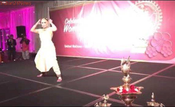 Aishwarya Dhanush Bharathanatyam Dance Performance at UN