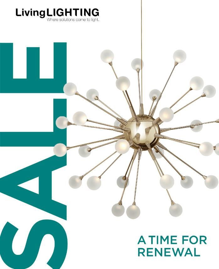 A TIME FOR RENEWAL! #Spring #Sale starts today!!! Spring is the perfect time to refresh your home! Here is our digital flyer http://livinglighting.com/2016SpringSale/flyer.html#p=1. For more details visit http://livinglighting.xolights.com/lighting-fixtures/-sale #Lighting #LivingLighting #Digital #Flyer