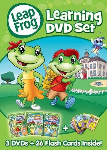 【在庫あり】リープフロッグ Leap Frog DVD3枚+フラッシュカード26枚セット■北米版DVD■Learning DVD set フォニックス入門編としてもお勧めです☆レビューを書いて送料無料☆10P01Jun14【楽天市場】