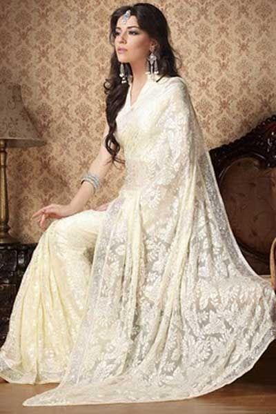 64 Best Fusion Wedding Sarees Images On Pinterest