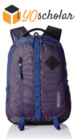 American Tourister Zing Purple Casual Backpack