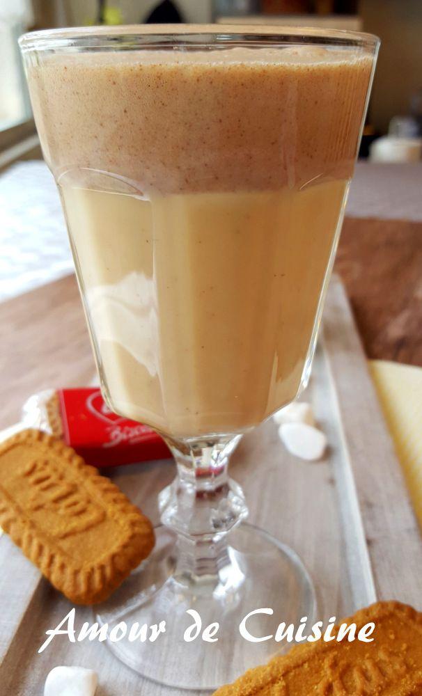 milkshake aux spéculoos 2