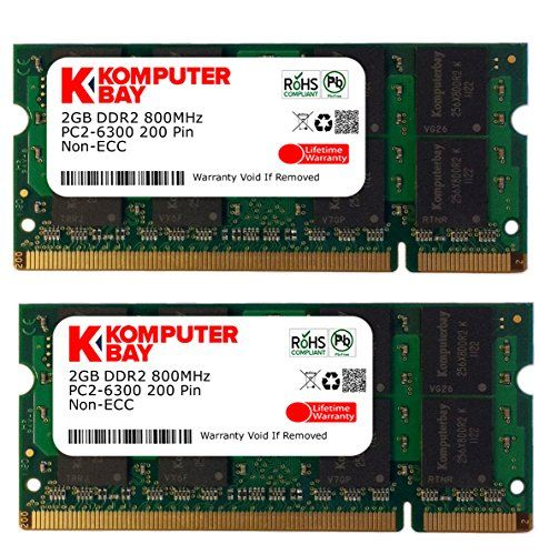 pc2-6400 800mhz ddr2 so-dimm