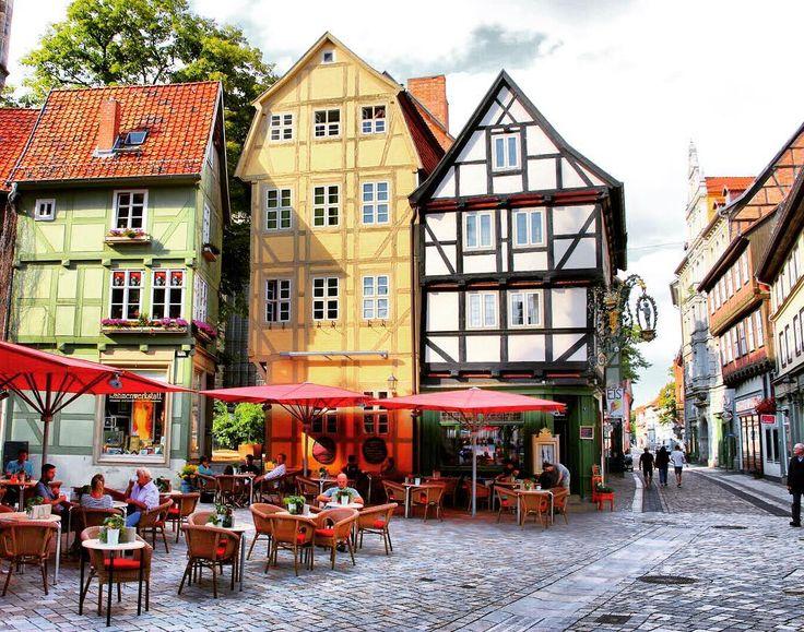 #city #quedlinburg #saxonyanhalt #germany #europe #2016 #travel #discover #trip #truss #colorful #tourist #tourism #cafe #historic #visit #eiscafe #harz #sachsenanhalt #deutschland #europa #reisen #entdecken #bunt #fachwerk #historisch #ddr #tourismus #besuchen #städtetrip