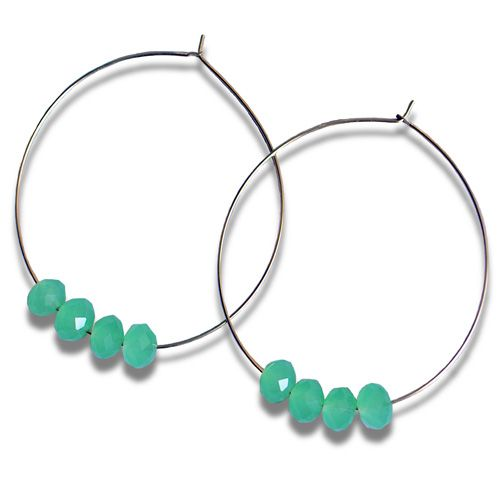 hoop earrings - Google Search