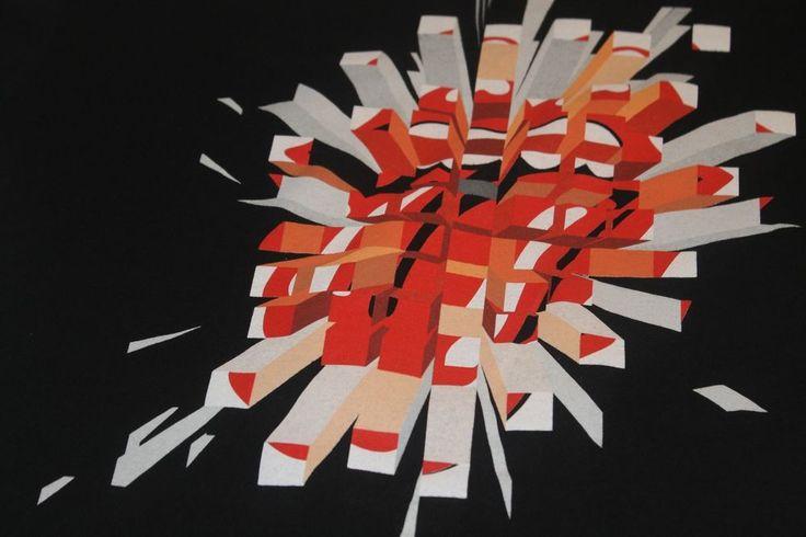 The Rolling Stones 2005 Concert T -Shirt A Bigger Bang Black Size Medium