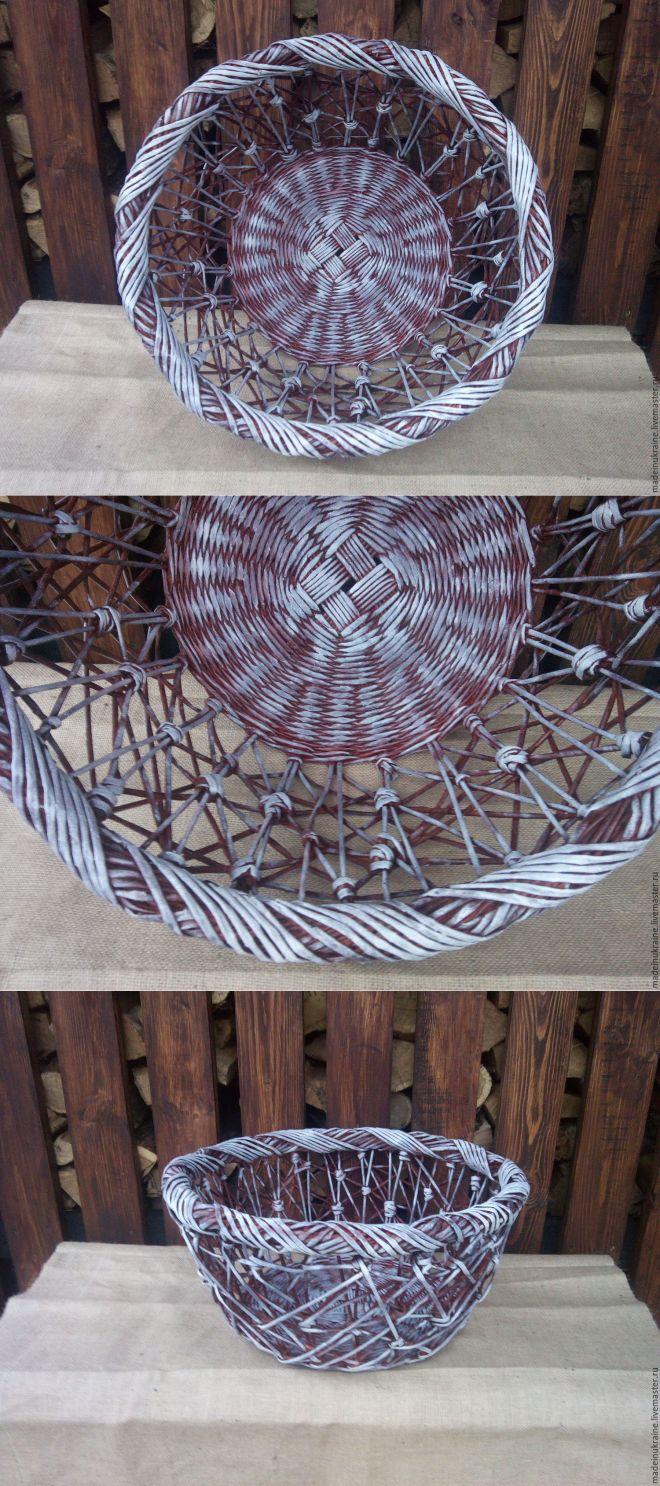 Купить Корзина для фотосессии CHAOTIC 5 красное дерево - корзина плетеная, корзины, корзина, фотосессия
