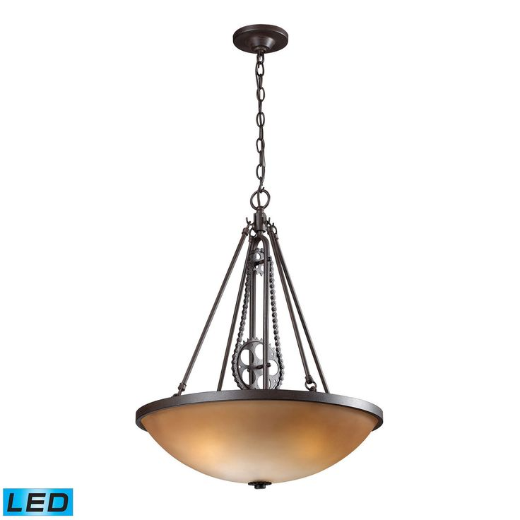 Shop westmore lighting cog and chain led large pendant at lowes canada find our selection of pendant lights at the lowest price guaranteed with price