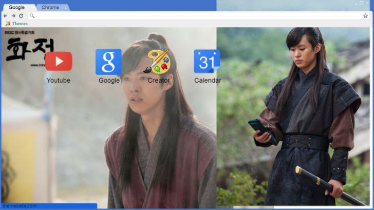 Gong Myung Chrome Theme - ThemeBeta