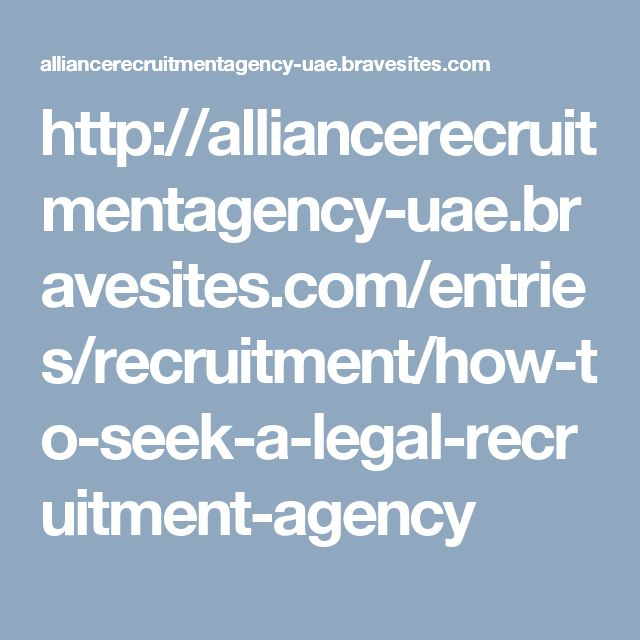 Being operating in the past is a leverage for the task seeker. He can then contact and enlist the aid of a manpower recruitment to help him acquire a better job and enhance his odds of finding a specific. Go to more information: http://alliancerecruitmentagency.ae/ View original source: blogger.com