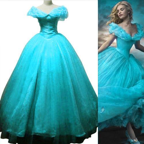 2015 New Movie Sandy Princess Cinderella Fancy dress TUTU dress Adult Lady #Unbranded #Maxi #Formal