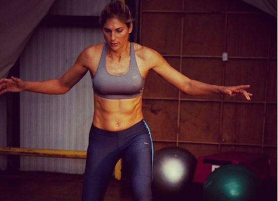 Gabrielle Reece's favorite moves for toning and de-stressing