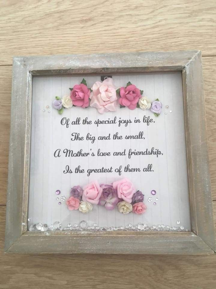 Pin By Michelle Skarvold On Box Frames Flower Shadow Box Family
