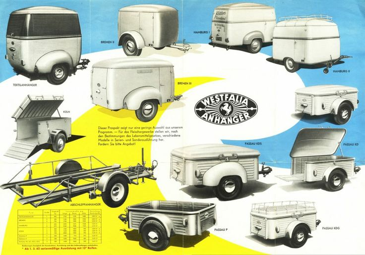 Westfalia Trailers