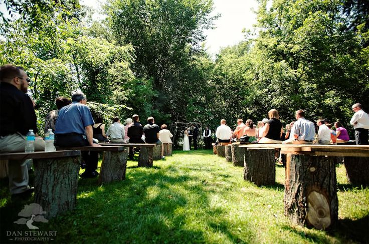 9a5fc05719c2f03c0368e3ed28f17f94  ceremony seating rustic bench - Wedding Ceremony Ideas