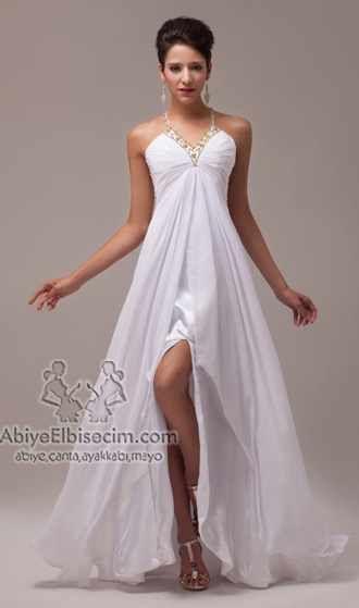 uzun abiye elbise askılı