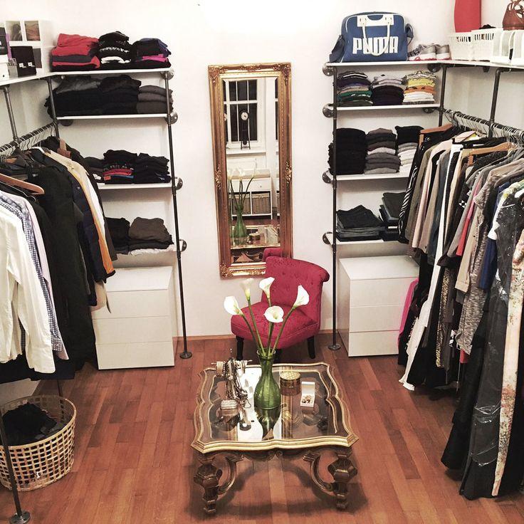 Trend  sterreich kleiderkammer kleiderschrank vintage shabby shic industriedesign regal