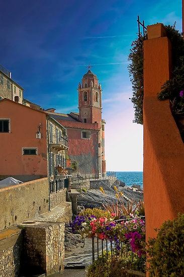 Church of San Giorgio - #Tellaro, Italy