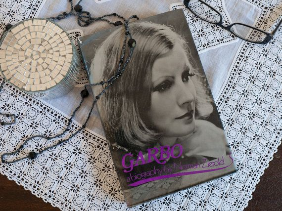 Vintage book: 'Garbo  a biography' by Norman by freshdarling