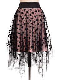 Dotted In Drama Vintage Inspired Ballerina Skirt
