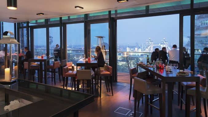 DoubleTree by Hilton Hotel London - Tower of London, United Kingdom - Sky Lounge