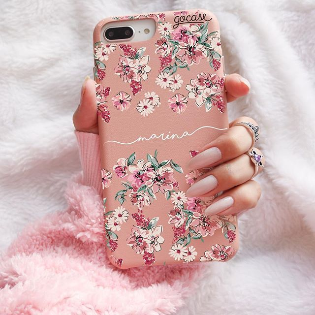 Capinha para celular Fascino – Flores Rosê