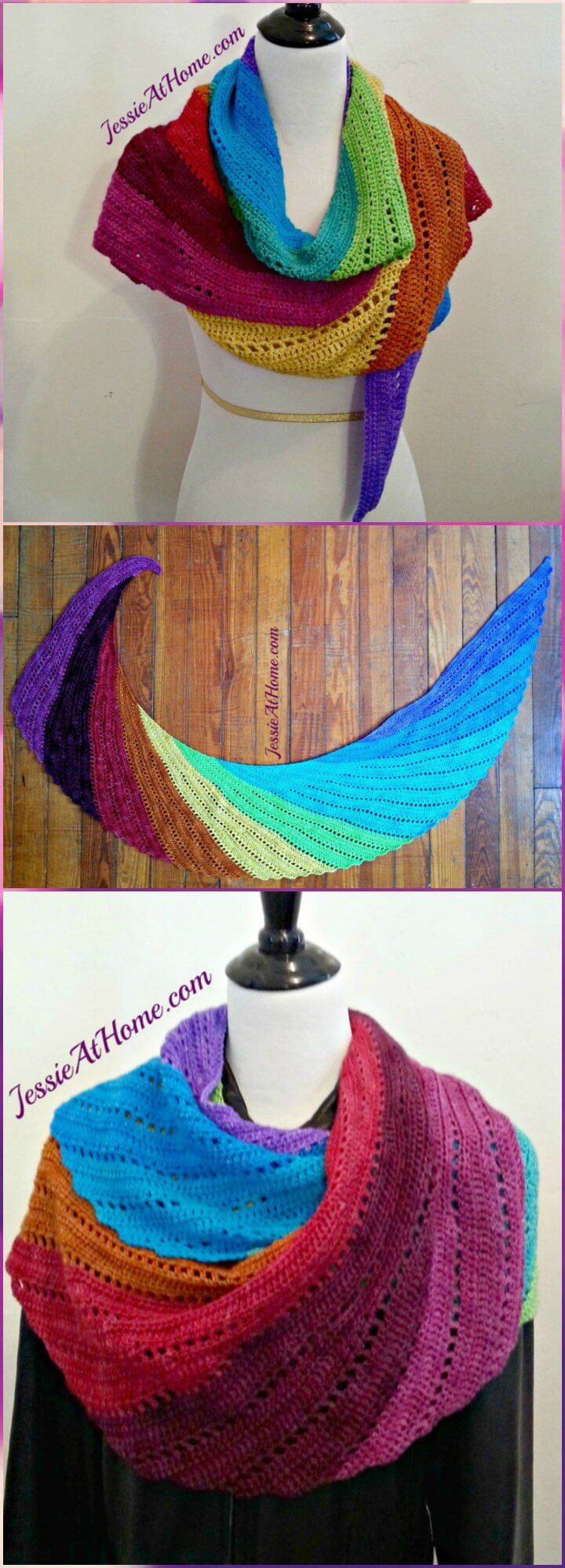 100 Free Crochet Shawl Patterns - Free Crochet Patterns - Page 11 of 19 - DIY & Crafts