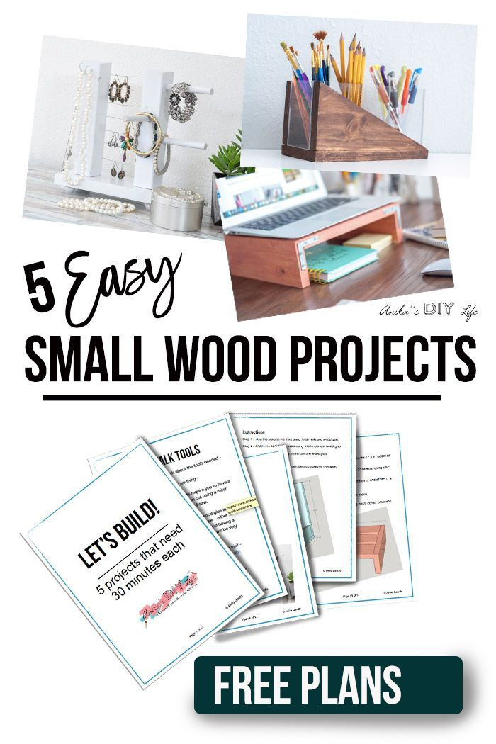 5 Easy Small Wood Projects In 30 Minutes Or Less Diy Furniture And
