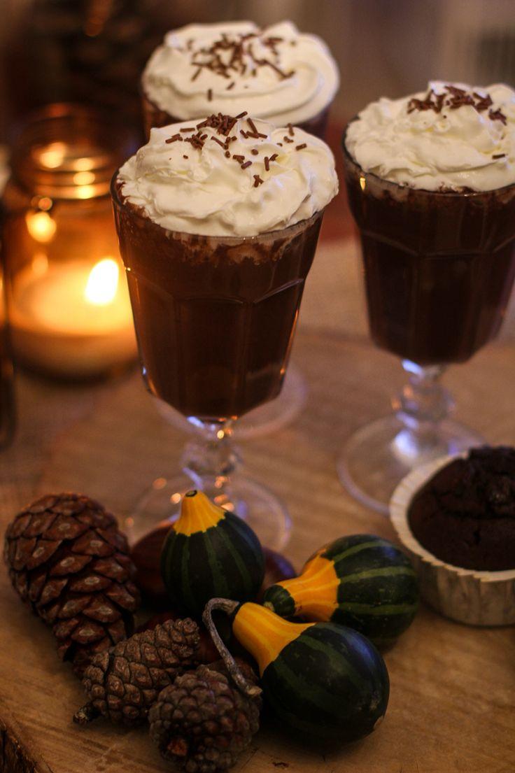 #fall #autumn #hotchocolate #cupcake #pumpkin #love