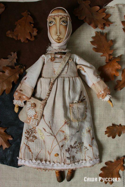 Народные куклы ручной работы. Ярмарка Мастеров - ручная работа. Купить Кукла берегиня 2. Handmade. Коричневый, подарок, кофе