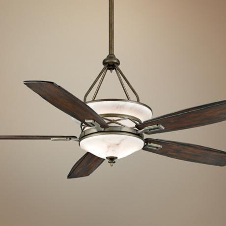 68 casablanca atria aged bronze outdoor ceiling fan lighting