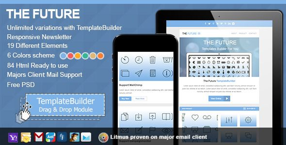 Future Responsive E-mail With Templates Builder