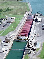 In a ceremony presided over by U.S. President Dwight D. Eisenhower and Queen Elizabeth II, the St. Lawrence Seaway is officially opened, creating a navigational channel from the Atlantic Ocean to all the Great Lakes. The seaway, made up of a system of canals, locks, and dredged waterways, extends a distance of nearly 2,500 miles, from the Atlantic Ocean through the Gulf of St. Lawrence to Duluth, Minnesota, on Lake Superior.