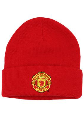 Children's Manchester United FC core beanie Official merchandise - Manchester United FC core beanieIdeal for football fans and a great gift ideaWith flat embroidered logoFabric 100% Acrylic Size One size Please note - Rekindledlove are 'Official Sellers' and not aut...
