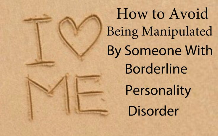 Manipulation Is One Of Many Ways That People With