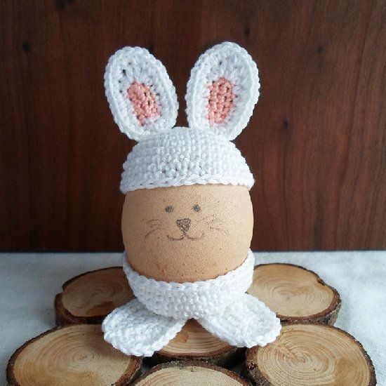 Dress up your eggs this year making these cute egg holders.