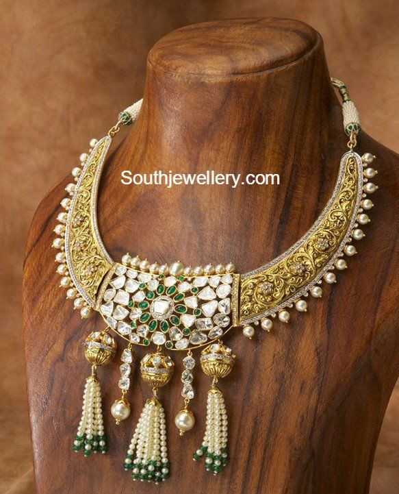 Antique Gold Necklace photo