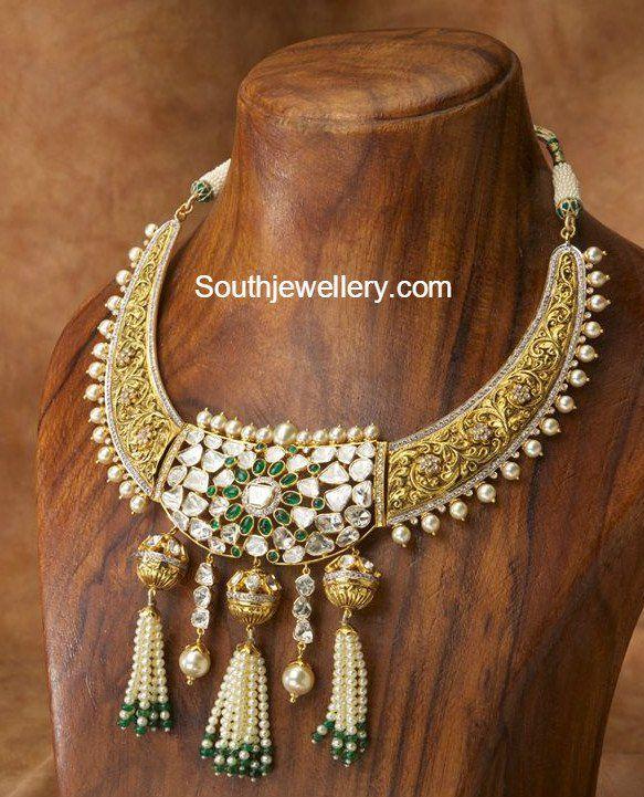 Antique Gold Necklace photo