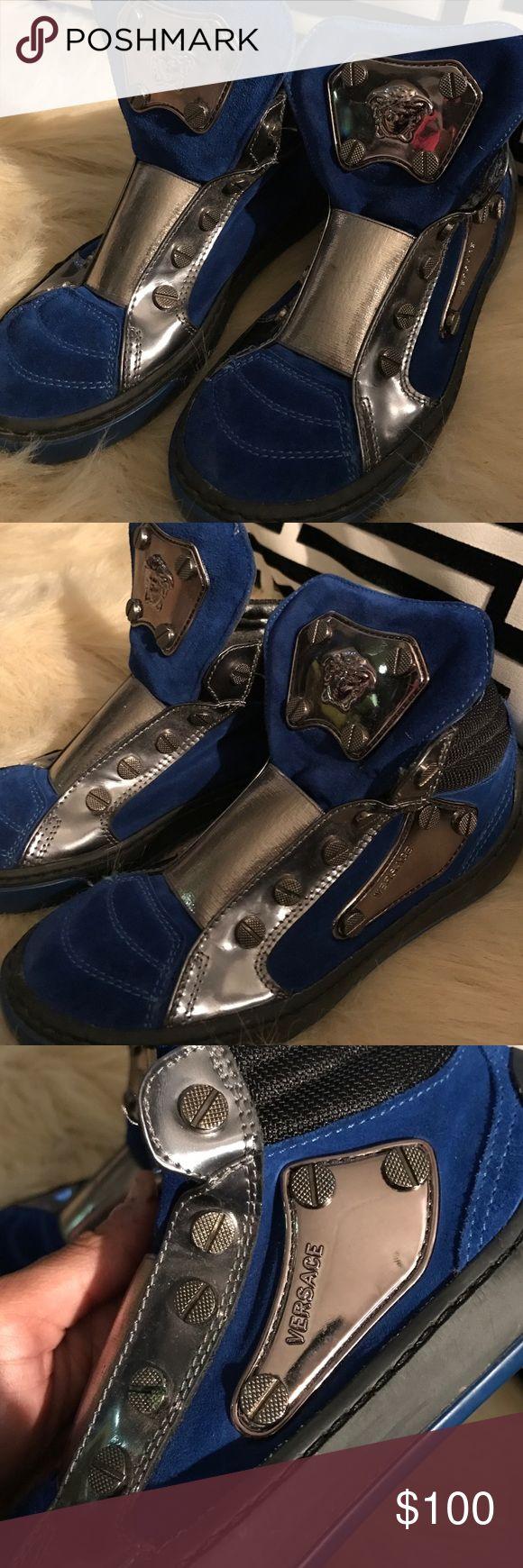 Kids Versace Sneaker Boys Versace Sneakers Shoes Sneakers
