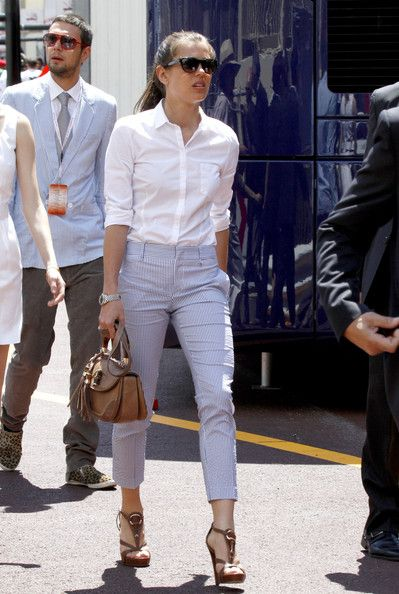 Charlotte Casiraghi | minimal, clean, practical dressing | classic style