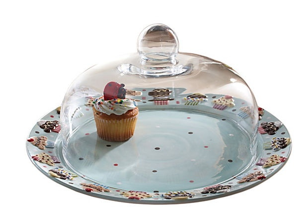domed cake plate, for all those homemade confections;)