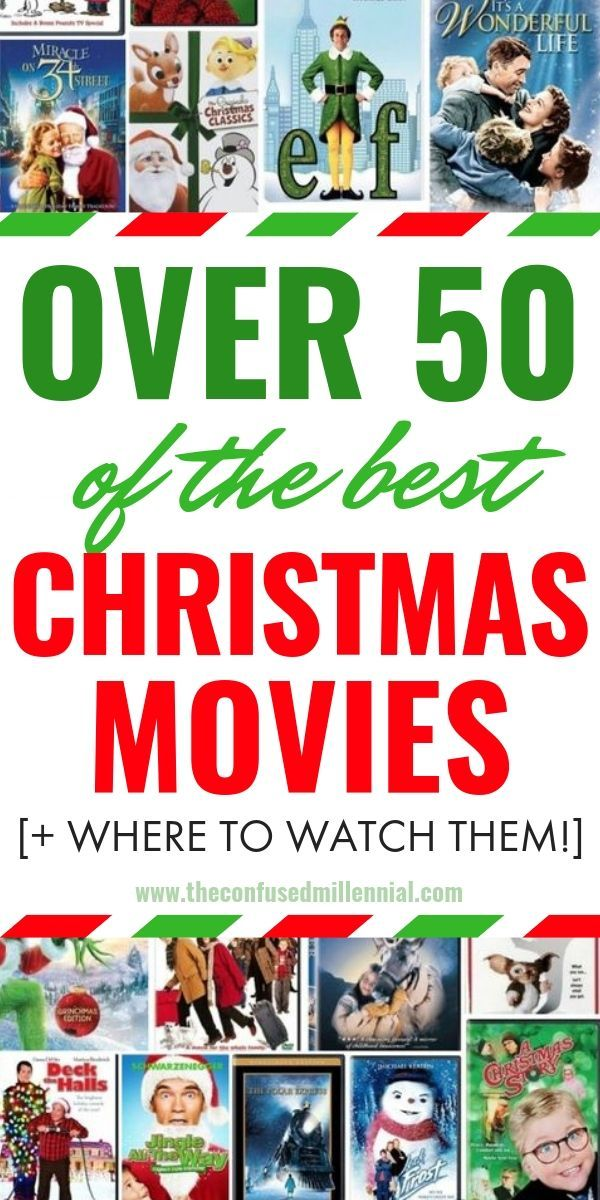 Countdown To Christmas 50 Movies To Watch This Holiday Season Best Christmas Movies Christmas Movies Hallmark Christmas Movies